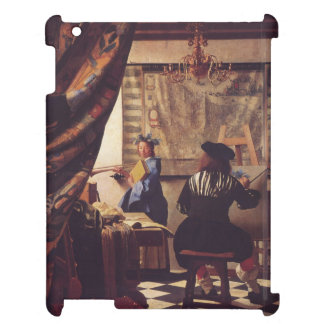 The Art Of Painting by Johannes Vermeer Cover For The iPad 2 3 4