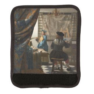The Art of Painting by Johannes Vermeer Handle Wrap