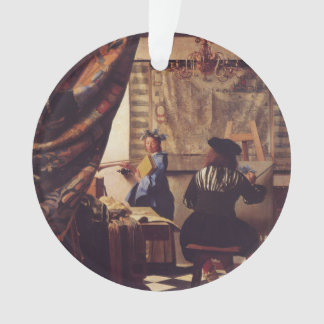 The Art Of Painting by Johannes Vermeer Ornament