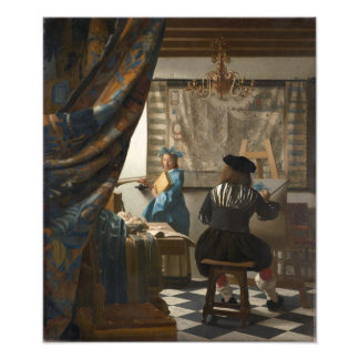 The Art of Painting by Johannes Vermeer Photograph