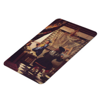 The Art of Painting by Johannes Vermeer Rectangular Photo Magnet