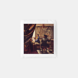 The Art Of Painting by Johannes Vermeer Reusable Bag