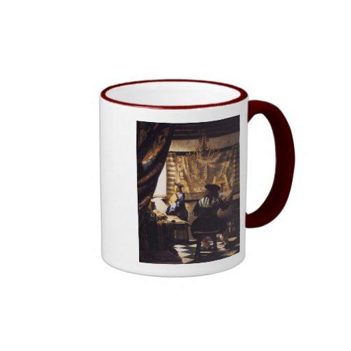The Art of Painting Ringer Mug