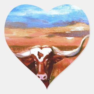 The Art of Patsy Walton Designs Heart Sticker