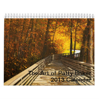 The Art of Patty Baker Calendar
