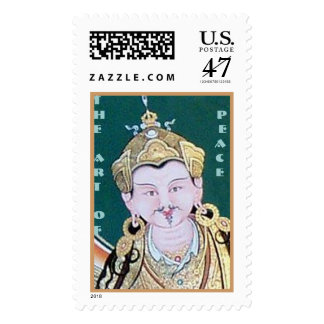 The Art of Peace Postage Stamp