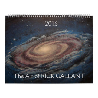 The Art of Rick Gallant Calendar