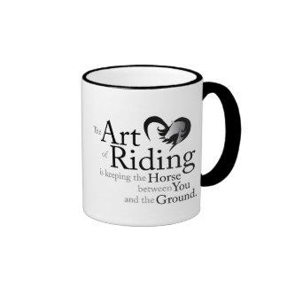 The Art of Riding Mug