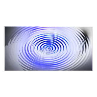 The Art of Ripples Personalized Photo Card
