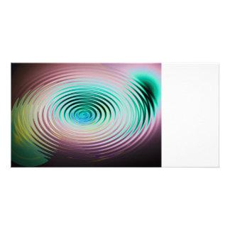 The Art of Ripples Custom Photo Card