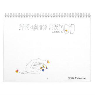 The Art of Simply Seeing God - 2009 Calendar