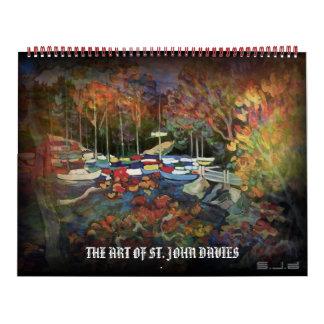 THE ART OF ST. JOHN DAVIES WALL CALENDARS