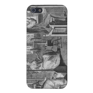 The Art of Stocking-Frame-Work-Knitting Case For iPhone SE/5/5s