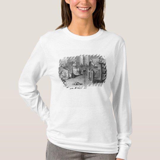 The Art of Stocking-Frame-Work-Knitting T-Shirt