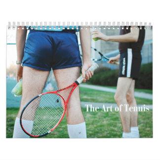 The Art of Tennis calendar