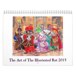 The Art of The Illustrated Rat Calendar 2015