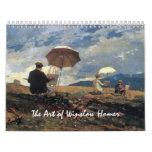 The Art of Winslow Homer Calendar