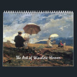 """The Art of Winslow Homer Calendar<br><div class=""""desc"""">A calendar with a selection of oil and watercolor paintings from the American artist Winslow Homer representing each month of the year. Some of the works include,  Red Canoe (1884),  Northeaster (1895),  Oranges (1885),  Bear and Canoe (1895) The cover design is Artist&#39;s Sketching in the White Mountains (1868).</div>"""