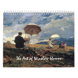 The Art of Winslow Homer Calendar