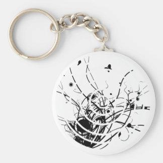 The Art of Zen Keychain Dark