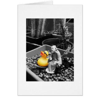 'The Art of Zen' Rubber Duck Card