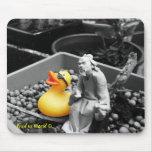 'The Art of Zen' Rubber Duck Mousepad