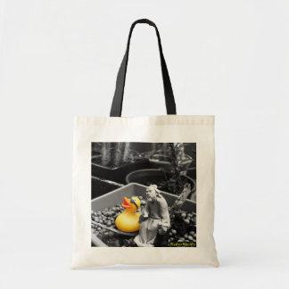 'The Art of Zen' Rubber Duck Tote Bag
