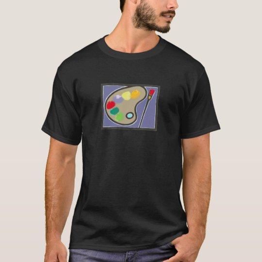 the art palette of colors T-Shirt