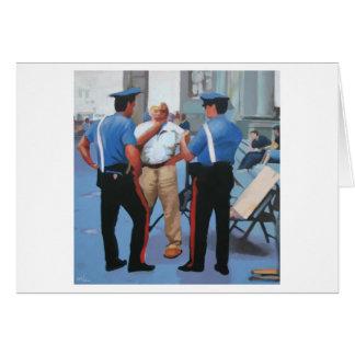 The Art Police Card