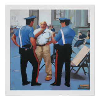 The Art Police Poster