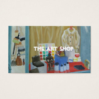 The Art Shop Business Card