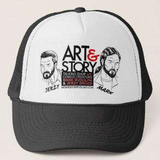 The Art & Story Hat! Trucker Hat
