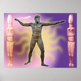 The Artemision Zeus or Poseidon_04 Print