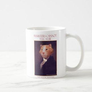 """The Artful Hamster """"George"""" Mug"""