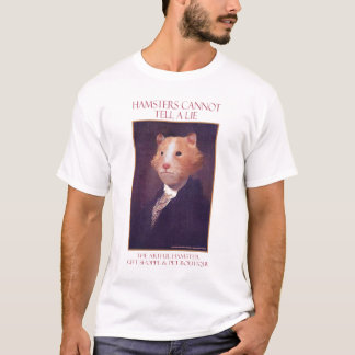 The Artful Hamster George T-Shirt