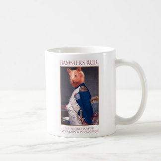 "The Artful Hamster ""Hamsters Rule"" Mug"