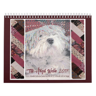 The Artful Westie 2017 Calendar