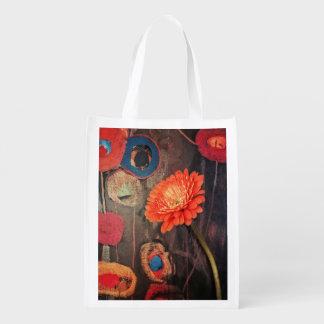 The Artful Zinnia Reusable Bag