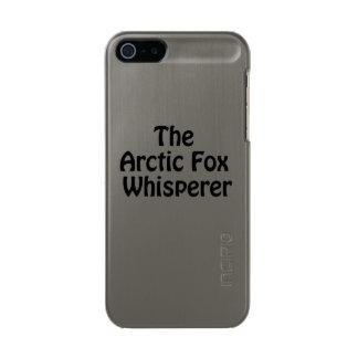 the artic fox whisper metallic phone case for iPhone SE/5/5s