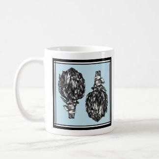 The Artichokes - Blue Mug