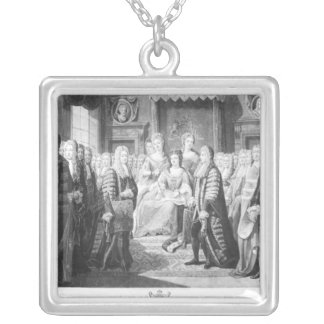 The Articles of the Union Silver Plated Necklace