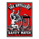 The Artillery Safety Match Poster