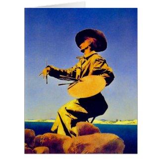The Artist 1909 Card
