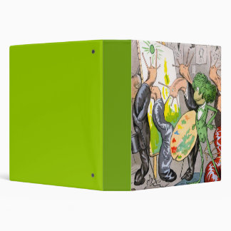 The Artist 3 Ring Binder