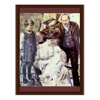 The Artist And His Family (Family Portrait) By Cor Post Cards