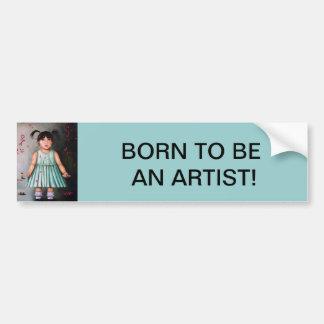 The Artist Bumper Stickers