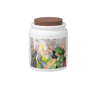 The Artist Candy Jars