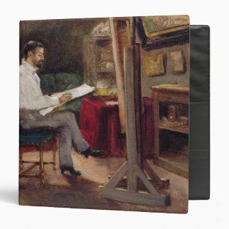 The Artist Morot in his Studio, c.1874 3 Ring Binder