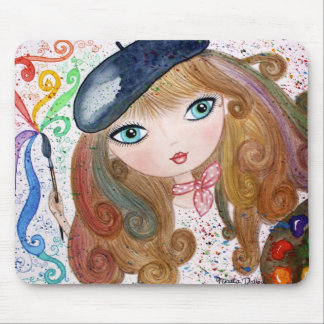 """The Artist"" Mouse Pad"