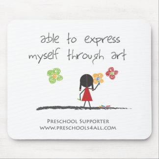 The Artist Mouse Pad